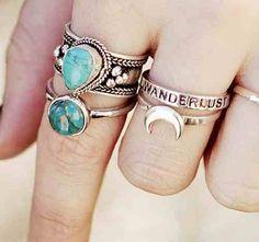 Ring stacking.