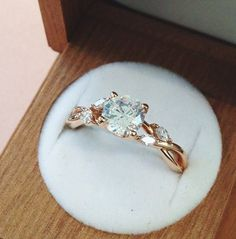 Inspired by the beauty of nature ring