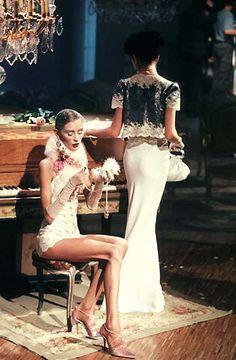 1998 - Galliano 4 Dior - Olga & Trish Goff