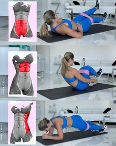 Full Body Gym Workout, Slim Waist Workout, Gym Workout Videos, Gym Workout For Beginners, Fitness Workout For Women, Sport Fitness, Gym Workouts, At Home Workouts, Body Fitness
