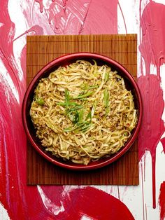 Japanilainen nuudeliruoka valmistuu hetkessä Japchae, Cabbage, Grains, Rice, Asian, Vegetables, Ethnic Recipes, Food, Essen