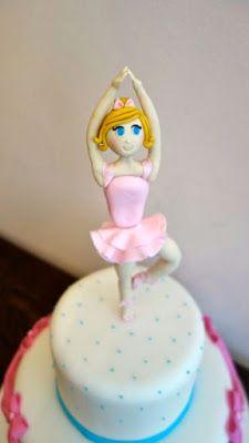 Bolo & Brigadeiro: Como modelar uma bailarina em pasta americana - Di...