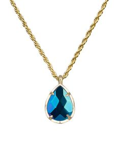 Thompson's Gift Shop - kiri necklace gold black iridescent, $45.00 (http://shop.thompsonscanyon.com/kiri-necklace-gold-black-iridescent/)