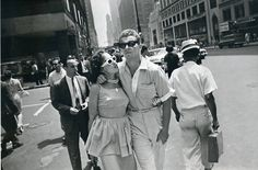 New York Couple, 1960's