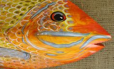 Palm Frond Fish by jungletoosea on Etsy