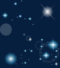 O Efeito estético Das Estrelas., Starlight, O Efeito De Luz, Estrelas A BrilharImagem PNG