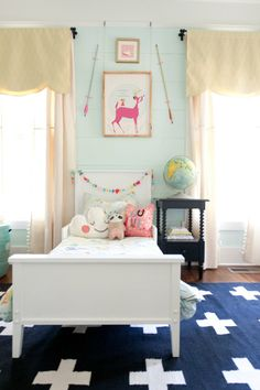 Vivi and Brigette's Home Away from Home Nursery Tour | Apartment Therapy