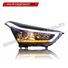 Buy Our Hyundai Creta, DRL, AES 55 watt, XENON HID Projector Headlights. These Headlights are Durable & exclusively designed by understanding & keeping weather & road conditions in mind. Hidden Projector, Projector Lens, Projector Headlights, Car Headlights, Hyundai Creta, Installation Manual, Wooden Crates, Spare Parts, All Brands