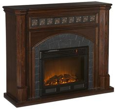 Lake Autry Fireplace