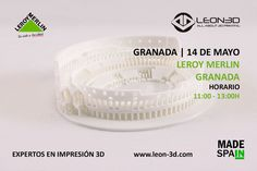Taller de impresión 3D Leroy Merlin Granada