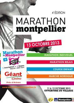 Marathon de Montpellier. Du 12 au 13 octobre 2013 à Montpellier.
