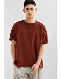 uo-blocked-football-tee by urban-outfitters #fashion #trends #onlineshopping #shoptagr