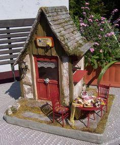 by Karin Caspar. Love the little outside sitting area.
