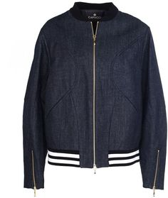 Capucci Denim Bomber. Bomber jacket fashions. I'm an affiliate marketer. When you click on a link or buy from the retailer, I earn a commission.