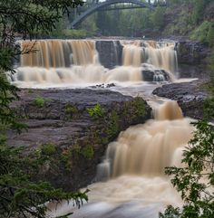 Gooseberry Falls Minnesota [4948x5060] [OC]