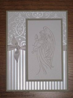 Christmas Angel by hyde1ter - Cards and Paper Crafts at Splitcoaststampers