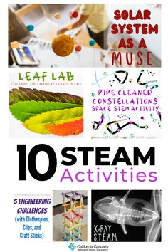 Sunday is National S.T.E.A.M. Day! Visit mycalcas.com for our favorite projects and activities you can do in-person or remotely with your students all month long 🤩 Steam Activities, Activities For Kids, Earth And Space Science, Stem Challenges, Holiday Lights, Craft Stick Crafts, Critical Thinking, Kids Learning, Students