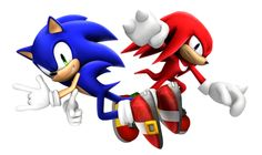 Sonic the Hedgehog and Knuckles the Echidna