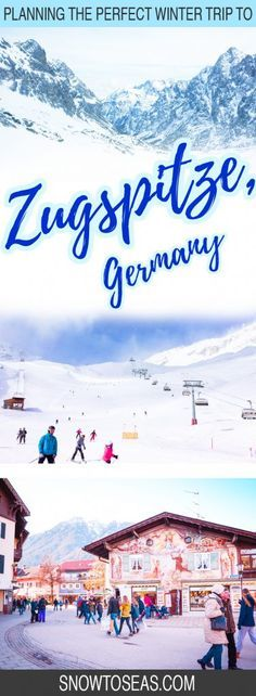 Dreaming of paying the Alps a visit? Find out how to plan the ultimate winter trip to Germany's ski town, Garmisch-Partenkirchen , and the mighty #zugspitze . #germany