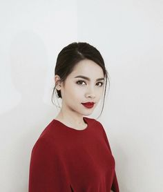 Asian Woman, Asian Girl, Thai Princess, Holy Chic, Beauty Portrait, Red Aesthetic, Got The Look, Everyday Makeup, Celebrity Couples