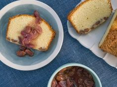 Grape Olive Oil Cake Recipe from Food Network Trisha Yearwood. Grape Olive Oil Cake Recipe from Food Network Trisha's Southern Kitchen, Southern Dishes, Cake Recipes, Dessert Recipes, Picnic Recipes, Bread Recipes, Breakfast Recipes, Olive Oil Cake, Food Cakes