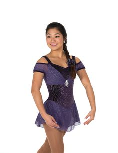 Jerry's Ice Skating Dress 72 - A Plum Affair