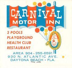 Carnival Motor Inn, Daytona Beach, FL (1950s)