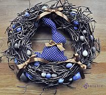 Easter Floral Easter Arrangement Easter by BaBamWreaths… na Stylowi.pl