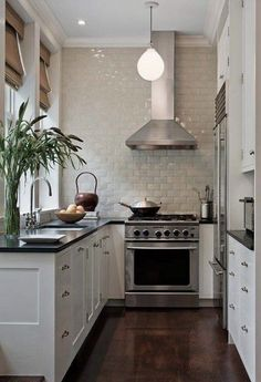 Tiny U-shaped kitchens.  http://www.kosip.org/art/19-practical-u-shaped-kitchen-designs-for-small-spaces/