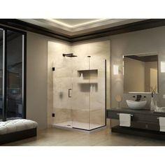 "DreamLine Unidoor Plus 30"" W x 42.5"" D Hinged Shower Enclosure"