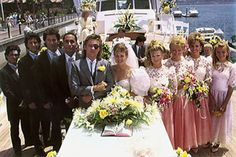Patch and Kayla's wedding on Days of our Lives #dool