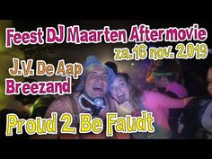 J.V.  De Aap - Breezand Proud 2 Be Faudt Aftermovie Youtube, Movie Posters, Movies, Instagram, Films, Film, Movie, Movie Quotes, Youtubers
