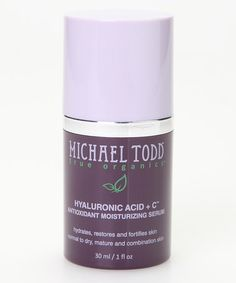 Hyaluronic Acid + C Antioxidant Moisturizing Serum by Michael Todd, $19 !! #zulily #zulilyfinds