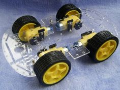 A acrylic car chassis.http://www.smartarduino.com/smart-car-chassis-with-velocity-tracing-obstacle-avoidance_p93598.html