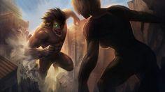 Eren vs Anne