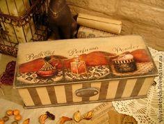 """Дамская коробка для хранения """"Для себя любимой"""" - коробка,короб,короб для хранения"""