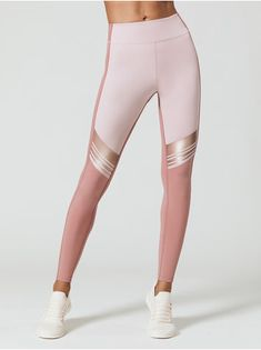 Best Pictures Womens activewear fashion Suggestions, , Gordon Leggings in Dusty Pink & Peony Combo by Nylora from Discover activewear for women at ASOS. Cute Workout Outfits, Workout Attire, Sporty Outfits, Workout Wear, Fashion Outfits, Pink Workout, Fashion Trends, Yoga Fashion, Sport Fashion
