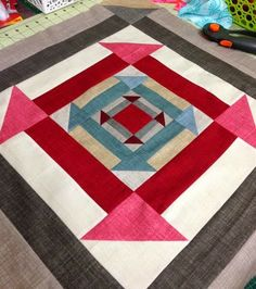 Welcome to the Nested Churn Dash QAL. It has been so exciting to see all the blocks popping up on FB and IG using the tag. So many beautiful variations. Today I will be posting the… Lap Quilts, Mini Quilts, Quilt Blocks, Quilting Tutorials, Quilting Projects, Quilting Designs, Pattern Blocks, Quilt Patterns, Style Baby
