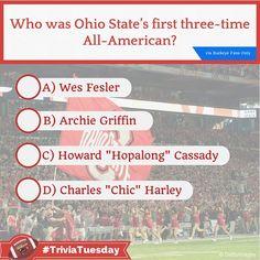 Let's play #TriviaTuesday! Via Buckeye Fans Only - Who was Ohio State's first three-time All-American? #Buckeyes