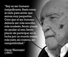 El ser humano deberia ser mas sencillo, al igual que la arquitectura