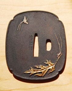Katana Tsuba by ~chosetec on deviantART