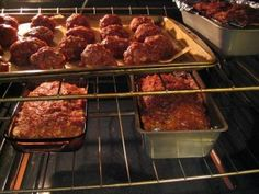Canning Meatloaf Balls...thinking of doing this with venison
