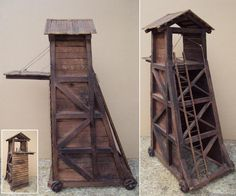 how to make medieval siege weapons out of popsicle sticks