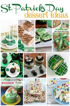 FacebookTwitterGoogle+PinterestStumbleUponPrintE-mailLove This St. Patrick's Day is right around the corner! If you are planning a party this weekend, you are going to need a dessert idea. What's a party without sweets? I have compliled some of thebest St. Patrick's Day dessert ideas around the web. Lots of mint and a lot of green, there is …