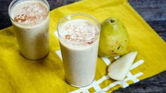 Pear Oatmeal http://www.rodalesorganiclife.com/food/5-crazy-delicious-smoothies-make-fall/pear-oatmeal
