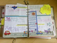 """""""on the go - travel theme"""" in my Filofax this week"""