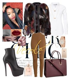 """Untitled #352"" by zaviana ❤ liked on Polyvore featuring H&M, ONLY, Christian Louboutin, Lana, ASOS, Chanel and Marc by Marc Jacobs"