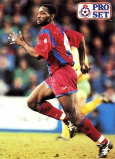 Andy Gray of Crystal Palace in Crystal Palace Fc, Everton Fc, 1990s, Red And Blue, Display Cases, Football, Baseball Cards, Gray, Celebrities