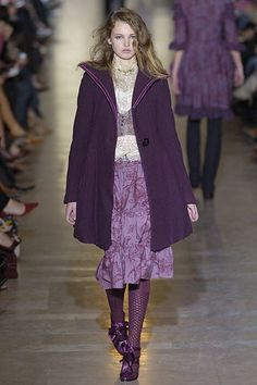 Jill Stuart Fall 2005 Ready-to-Wear Fashion Show - Mona Johannesson