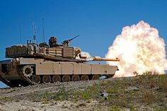 M1A2 Abrams Main Battle Tank - Approved for production in 1990, the M1A2 represents the U.S. Army's technological improvement of the basic M1A1 design and the most modern battle tank in the w